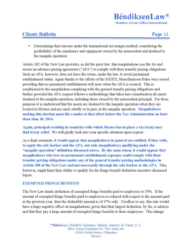 Maquiladora Tax Regime Under the 2014 Tax Reform v3-page-011